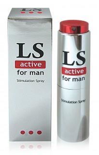 """""""LS ACTIVE"""" возбуждающий спрей для мужчин 18 мл"""