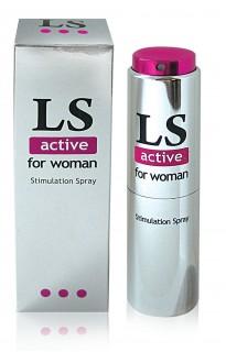 """""""LS ACTIVE"""" возбуждающий спрей для женщин 18 мл"""