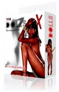 117004 Кукла надувная, негритянка