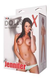 117022 Кукла Jennifer надувная